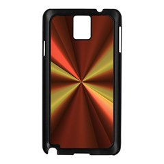 Copper Beams Abstract Background Pattern Samsung Galaxy Note 3 N9005 Case (Black)