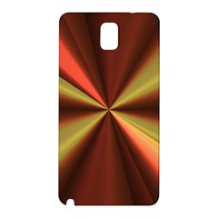 Copper Beams Abstract Background Pattern Samsung Galaxy Note 3 N9005 Hardshell Back Case