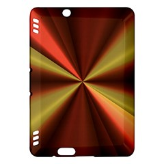 Copper Beams Abstract Background Pattern Kindle Fire Hdx Hardshell Case