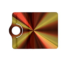 Copper Beams Abstract Background Pattern Kindle Fire Hd (2013) Flip 360 Case