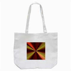 Copper Beams Abstract Background Pattern Tote Bag (White)