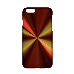 Copper Beams Abstract Background Pattern Apple iPhone 6/6S Hardshell Case