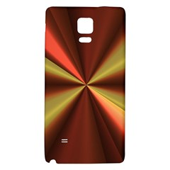 Copper Beams Abstract Background Pattern Galaxy Note 4 Back Case