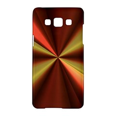 Copper Beams Abstract Background Pattern Samsung Galaxy A5 Hardshell Case