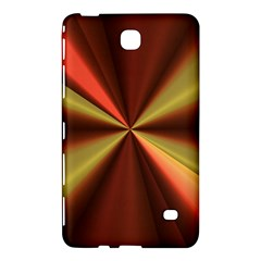 Copper Beams Abstract Background Pattern Samsung Galaxy Tab 4 (7 ) Hardshell Case