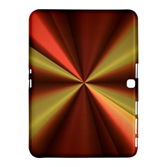 Copper Beams Abstract Background Pattern Samsung Galaxy Tab 4 (10.1 ) Hardshell Case