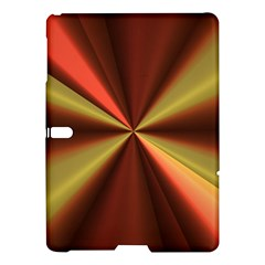 Copper Beams Abstract Background Pattern Samsung Galaxy Tab S (10.5 ) Hardshell Case