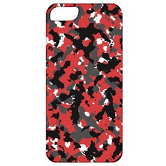 Bloodshot Camo Red Urban Initial Camouflage Apple Iphone 5 Classic Hardshell Case