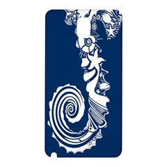 Coral Life Sea Water Blue Fish Star Samsung Galaxy Note 3 N9005 Hardshell Back Case