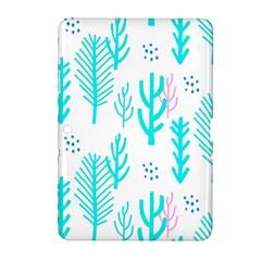 Forest Drop Blue Pink Polka Circle Samsung Galaxy Tab 2 (10 1 ) P5100 Hardshell Case
