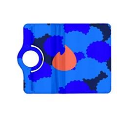 Image Orange Blue Sign Black Spot Polka Kindle Fire Hd (2013) Flip 360 Case