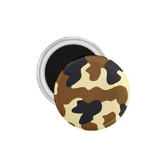 Initial Camouflage Camo Netting Brown Black 1.75  Magnets