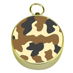 Initial Camouflage Camo Netting Brown Black Gold Compasses