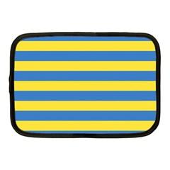 Horizontal Blue Yellow Line Netbook Case (Medium)