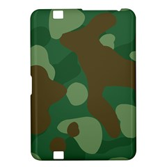 Initial Camouflage Como Green Brown Kindle Fire Hd 8 9