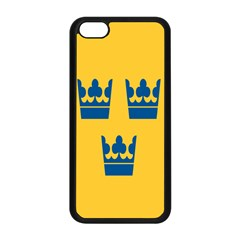 King Queen Crown Blue Yellow Apple Iphone 5c Seamless Case (black)