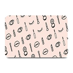 Makeup Tools Eye Mirror Pink Lip Plate Mats