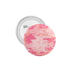 Initial Camouflage Camo Pink 1.75  Buttons