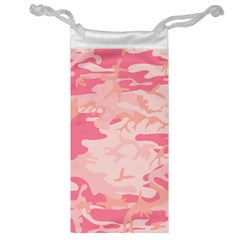 Initial Camouflage Camo Pink Jewelry Bag