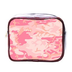 Initial Camouflage Camo Pink Mini Toiletries Bags