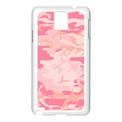 Initial Camouflage Camo Pink Samsung Galaxy Note 3 N9005 Case (white)
