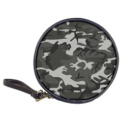 Initial Camouflage Grey Classic 20-CD Wallets