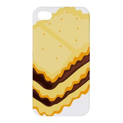 Sandwich Biscuit Chocolate Bread Apple Iphone 4/4s Hardshell Case