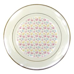 Pretty Colorful Butterflies Porcelain Plates