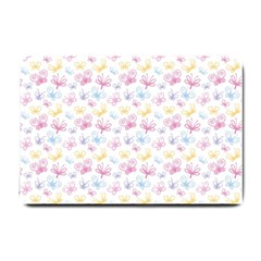 Pretty Colorful Butterflies Small Doormat