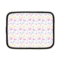 Pretty Colorful Butterflies Netbook Case (small)