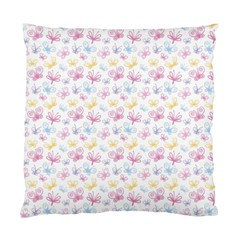 Pretty Colorful Butterflies Standard Cushion Case (two Sides)