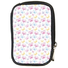 Pretty Colorful Butterflies Compact Camera Cases