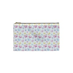 Pretty Colorful Butterflies Cosmetic Bag (small)