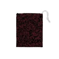 Random Red Black Drawstring Pouches (small)