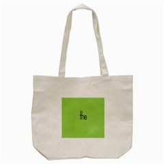 Sign Green The Tote Bag (Cream)