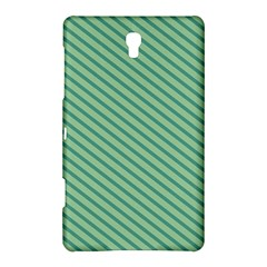 Striped Green Samsung Galaxy Tab S (8 4 ) Hardshell Case