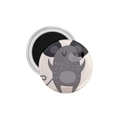 Tooth Bigstock Cute Cartoon Mouse Grey Animals Pest 1.75  Magnets