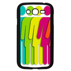 Trans Gender Purple Green Blue Yellow Red Orange Color Rainbow Sign Samsung Galaxy Grand Duos I9082 Case (black)
