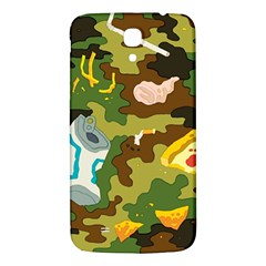 Urban Camo Green Brown Grey Pizza Strom Samsung Galaxy Mega I9200 Hardshell Back Case