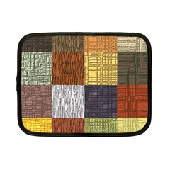 Blocky Filters Yellow Brown Purple Red Grey Color Rainbow Netbook Case (Small)