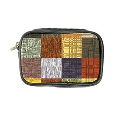 Blocky Filters Yellow Brown Purple Red Grey Color Rainbow Coin Purse