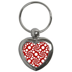 Pattern Key Chains (Heart)