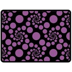 Pattern Fleece Blanket (Large)