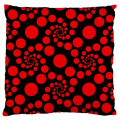 Pattern Large Flano Cushion Case (two Sides)