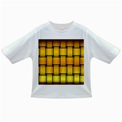 Rough Gold Weaving Pattern Infant/Toddler T-Shirts