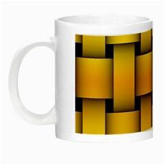 Rough Gold Weaving Pattern Night Luminous Mugs