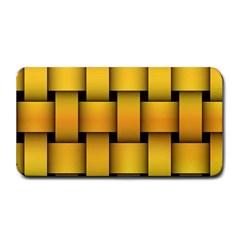 Rough Gold Weaving Pattern Medium Bar Mats