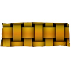 Rough Gold Weaving Pattern Body Pillow Case (Dakimakura)