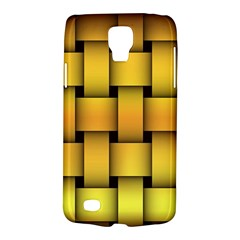 Rough Gold Weaving Pattern Galaxy S4 Active