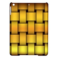 Rough Gold Weaving Pattern Ipad Air Hardshell Cases
